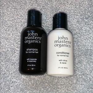 NEW John Masters Organic Shampoo and Conditioner